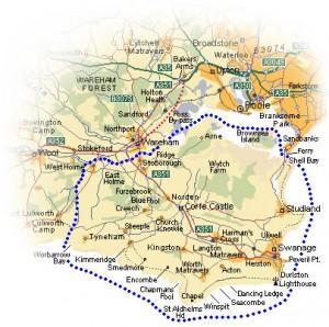 purbeck map